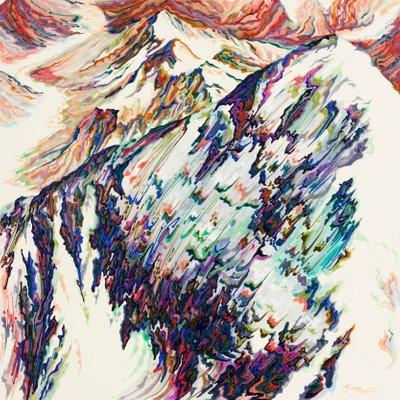 [A0898-0007] 독수리들이 사는 곳 + 히말라야