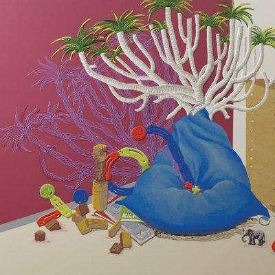 [A0898-0029] 콩주머니에서 자라는 나무