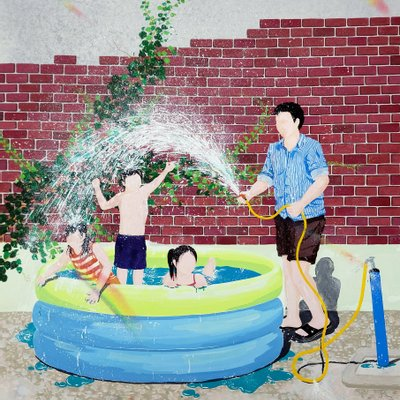 [A0926-0017] House Waterplay