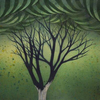 [A0931-0023] 夢幻(몽환)-유령나무