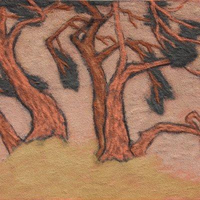"""[A0938-0003] """"나무, 그리고 바람의 안무"""""""