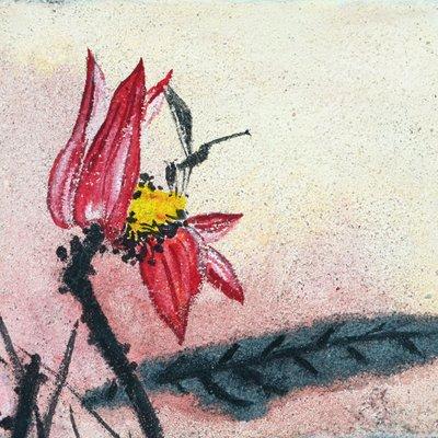 """[A0938-0019] """"꽃, 그리고 바람의 안무"""""""