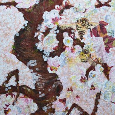 """[A0938-0023] """"꽃, 그리고 바람의 안무"""""""