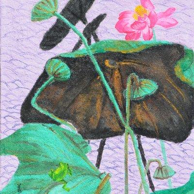 """[A0938-0026] """"꽃, 그리고 바람의 안무"""""""