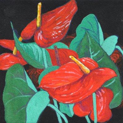 """[A0938-0028] """"꽃, 그리고 바람의 안무"""""""