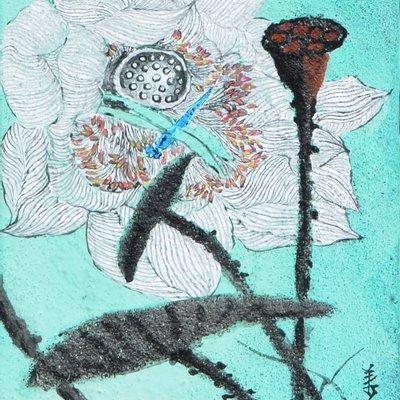 """[A0938-0030] """"꽃, 그리고 바람의 안무"""""""