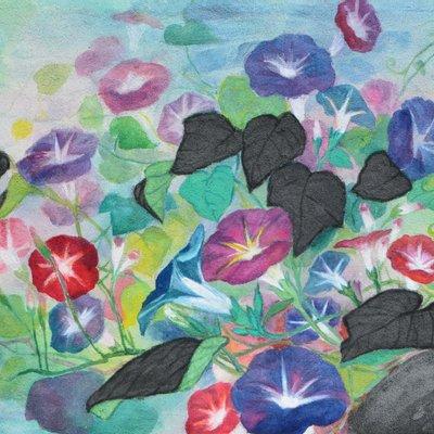 """[A0938-0035] """"꽃, 그리고 바람의 안무"""""""