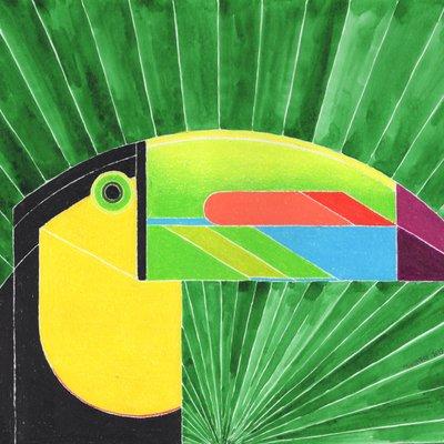 [A0948-0029] Keel-Billed Toucan(홈왕부리새)