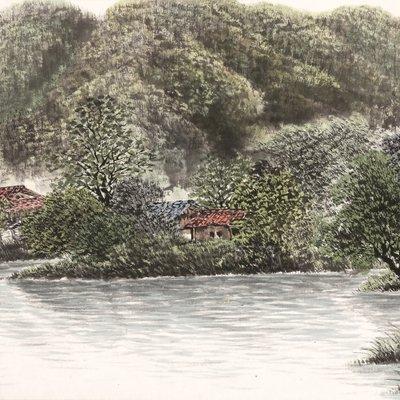 [A0952-0043] 강변의 추억