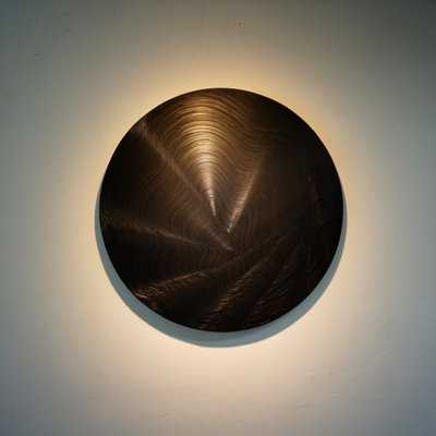 [A0961-0009] BLACK WAVE CIRCLE