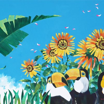 [A1026-0016] Oasis- Sunflower