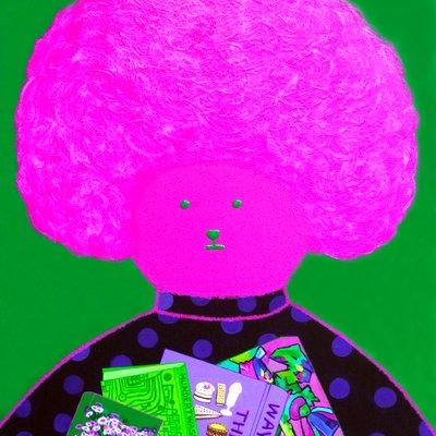 [A1035-0033] 핑크 비숑 프리제