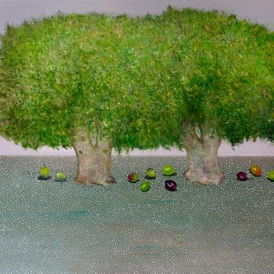 [A1041-0001] 올리브 나무 아래서 -기도
