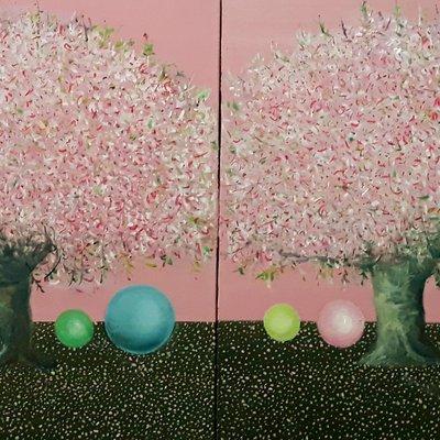 [A1041-0009] <<벚나무 -Nomade>>