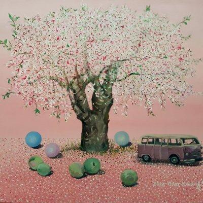 [A1041-0010] 몽상-휴식의 나무 5월