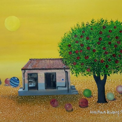 [A1041-0020] 꿈 속에 나무 ; 바람의 집