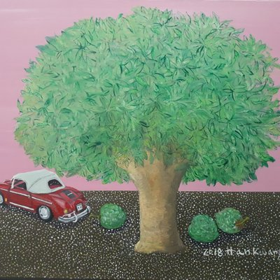 [A1041-0033] 이국적 나무 =Nomade