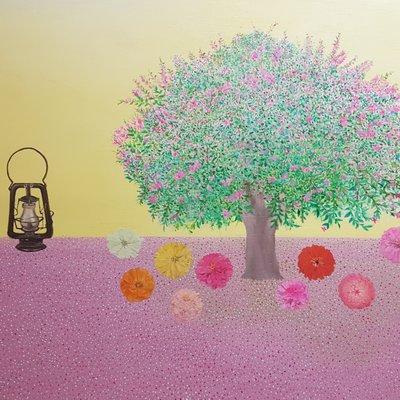[A1041-0034] 배롱 나무의 꿈 -열처녀의 비유