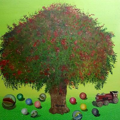 [A1041-0039] 배롱 나무의 꿈 -유년시절