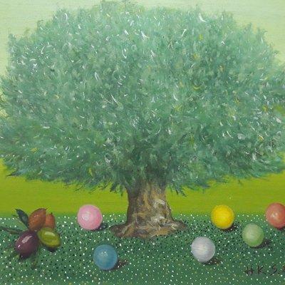 [A1041-0041] 올리브나무아래서 - 기도
