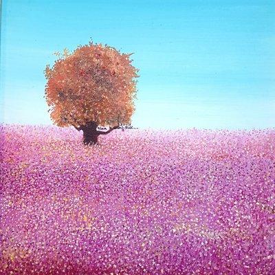 [A1041-0065] 멜랑꼴리-행복나무