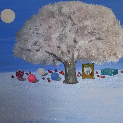 [A1041-0068] 겨울나무 여행길
