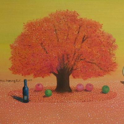 [A1041-0074] 가을날-마그리뜨에 대한기억