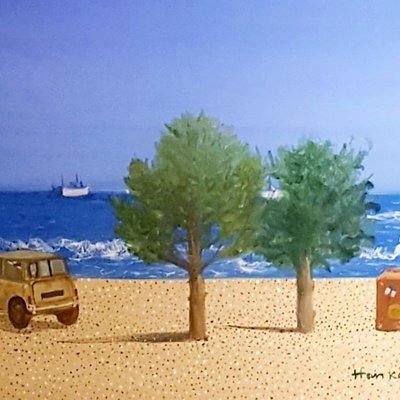 [A1041-0086] 삼포해변