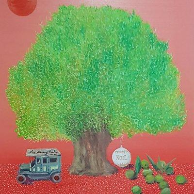 [A1041-0088] 올리브 나무-꿈속을 헤맬때