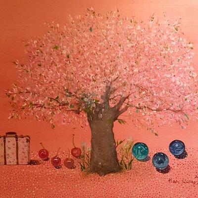 [A1041-0097] 체리나무 사랑