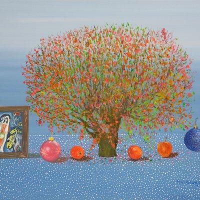 [A1041-0105] 사과나무의 계절