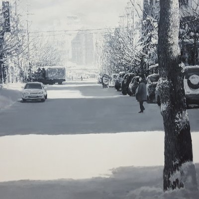 [A1044-0007] 눈내린 다음날2