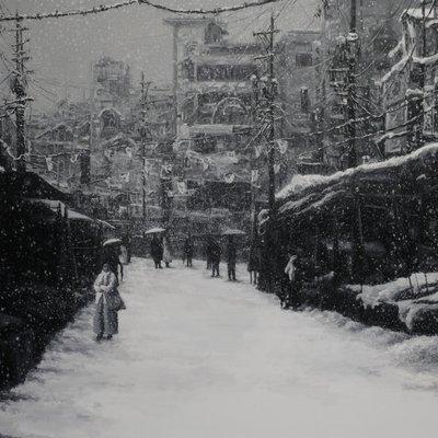 [A1044-0010] 눈오던 날2