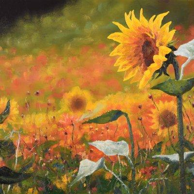 [A1044-0102] 여름꽃2