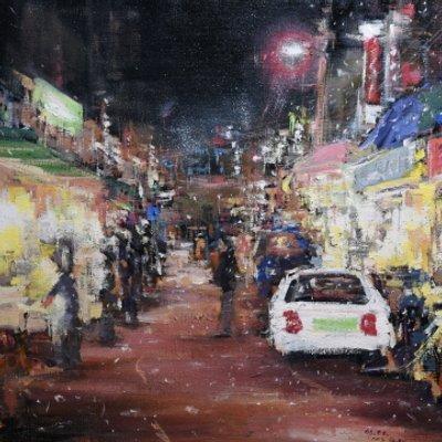 [A1044-0115] 죽도시장의 밤
