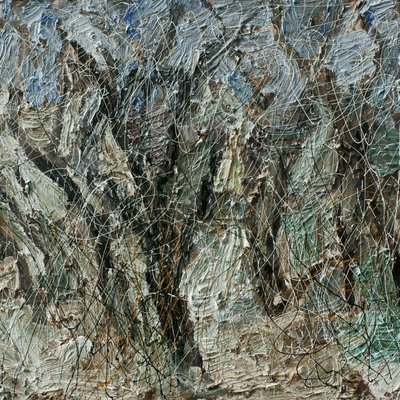 [A1050-0085] 조립된 풍경 - 지리산1(나무들)