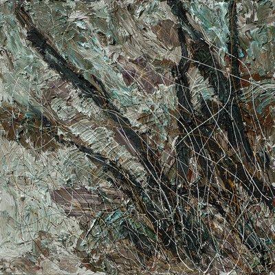 [A1050-0088] 조립된 풍경 - 지리산4(나무와 수풀, 하천)