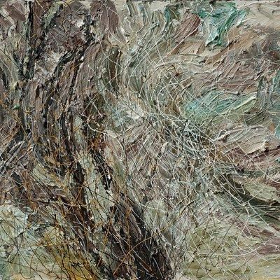 [A1050-0089] 조립된 풍경 - 지리산5(겨울산)