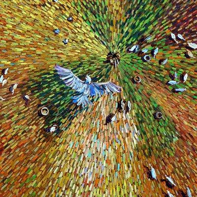 [A1050-0105] Dear Vincent  - Bird's eye (새의 눈)2