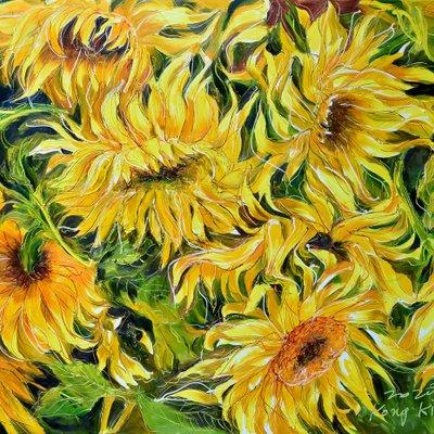 [A1050-0200] Secret garden -Sunflower