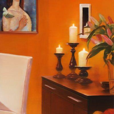 [A1069-0069] 촛불 켜는 아침 Candlelit Morning