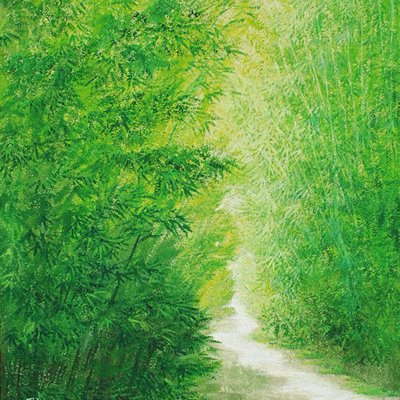[A1073-0029] 숲속의 길