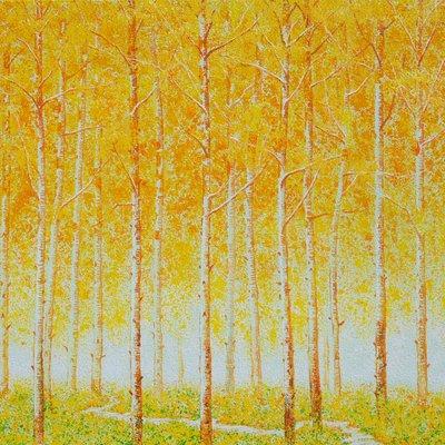 [A1073-0106] 평화로운 숲속 길