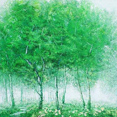 [A1073-0109] 초록빛 평온