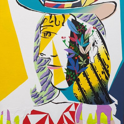 [A1081-0015] Picasso woman hommage 02