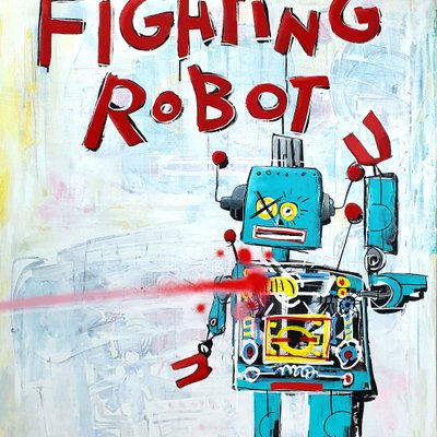 [A1081-0033] Fighting Robot
