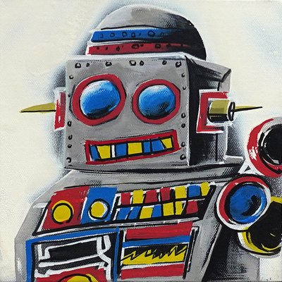 [A1081-0058] I'm robot series 10