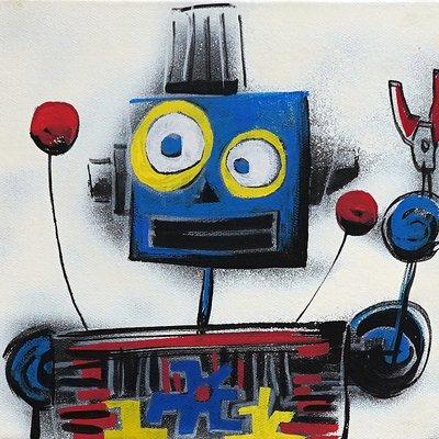 [A1081-0059] I'm robot series 09