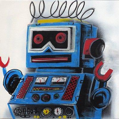 [A1081-0060] I'm robot series 08