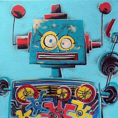 [A1081-0063] I'm robot series 06